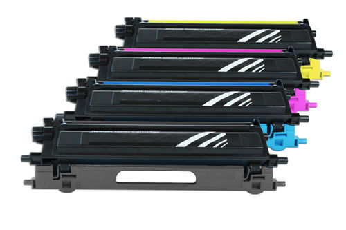 Alternativ 4x TN135 / TN130 Toner für Brother HL-4040 CN / HL-4050 CDN / HL-4050 CDNLT / HL-4070 CDW