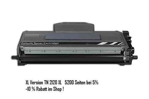 TN2120 XL / TN2120 XL Toner kompatibel für MFC Brother MFC 7320 7440N DCP 7040