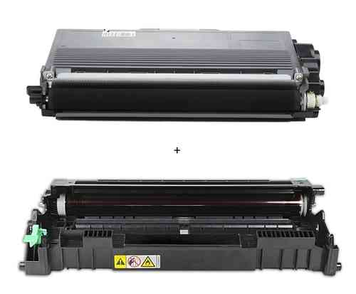 Alternativ TN3380 Toner + DR3300 Trommel für Brother MFC 8520 HL5450D